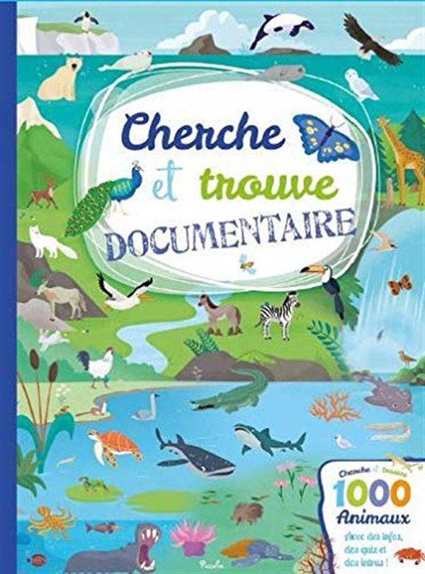 1000 animaux - Cherche et trouve Documentaire