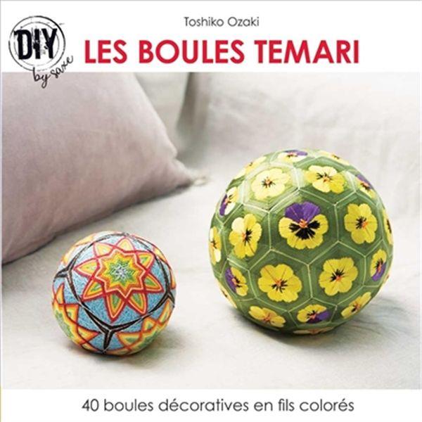 Les boules Temari : 40 boules décoratives en fils colorés