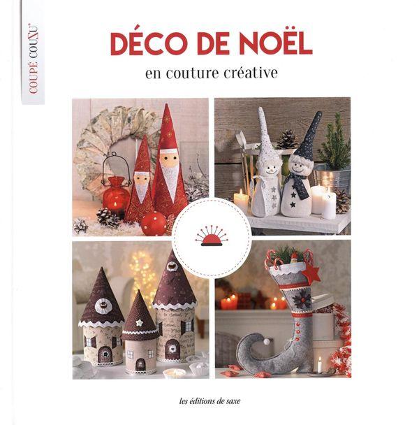 Déco de Noël en couture créative