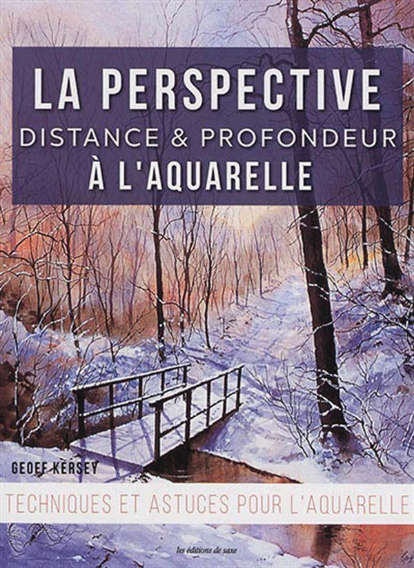 La perspective : Distance & profondeur à l'aquarelle