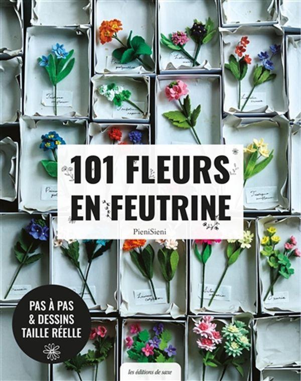 101 fleurs en feutrine