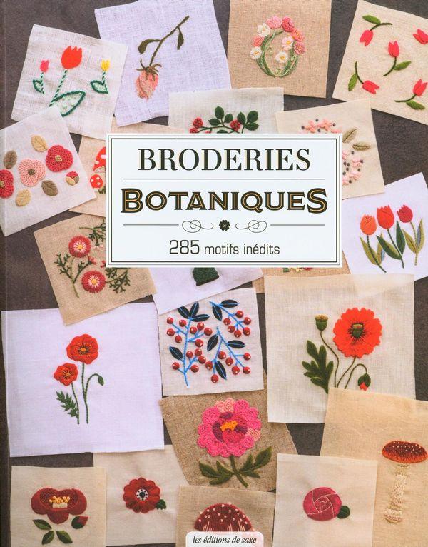 Broderies botaniques kawadé