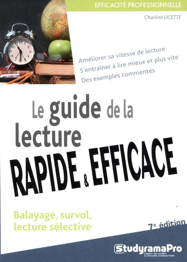Guide de la lecture rapide et efficace