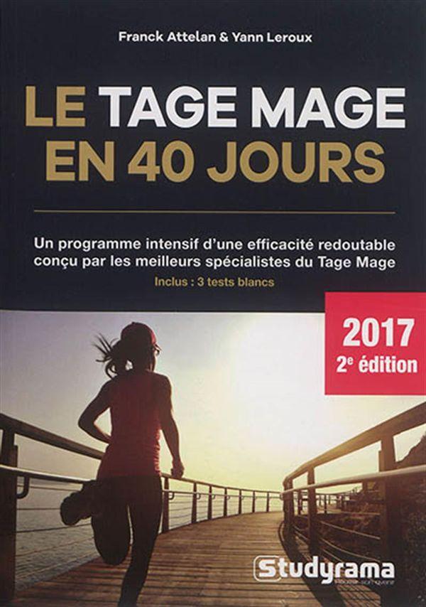 Le Tage mage en 40 jours 2017 2e édition
