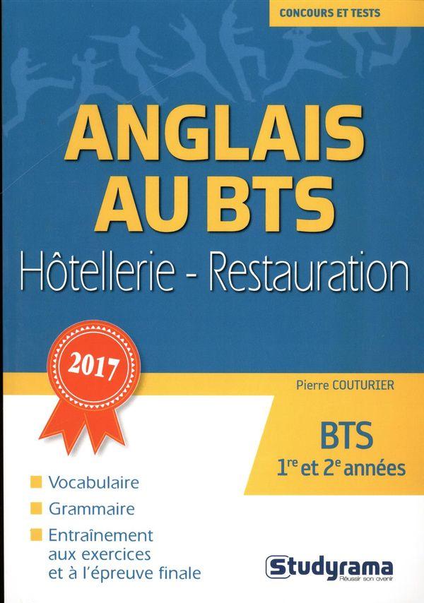 Anglais au BTS Hôtellerie-Restauration