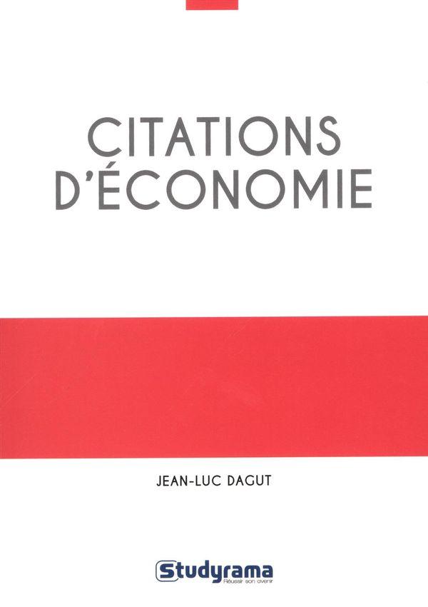 Citations d'économie