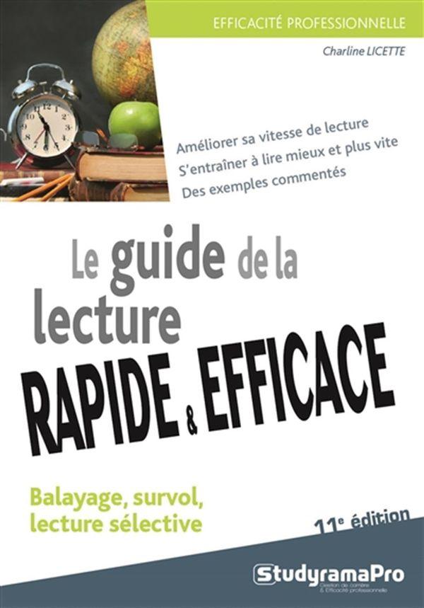 Le guide de la lecture rapide & efficace 11e édition