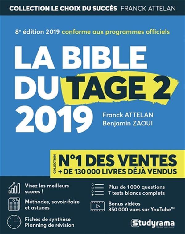 Bible du Tage 2 2019 : 8e édition