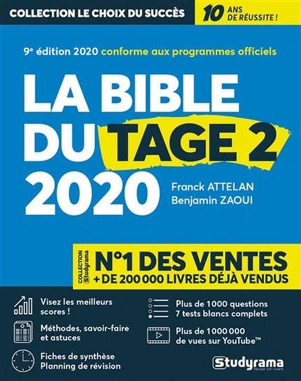 La Bible du Tage 2 2020 9e édition