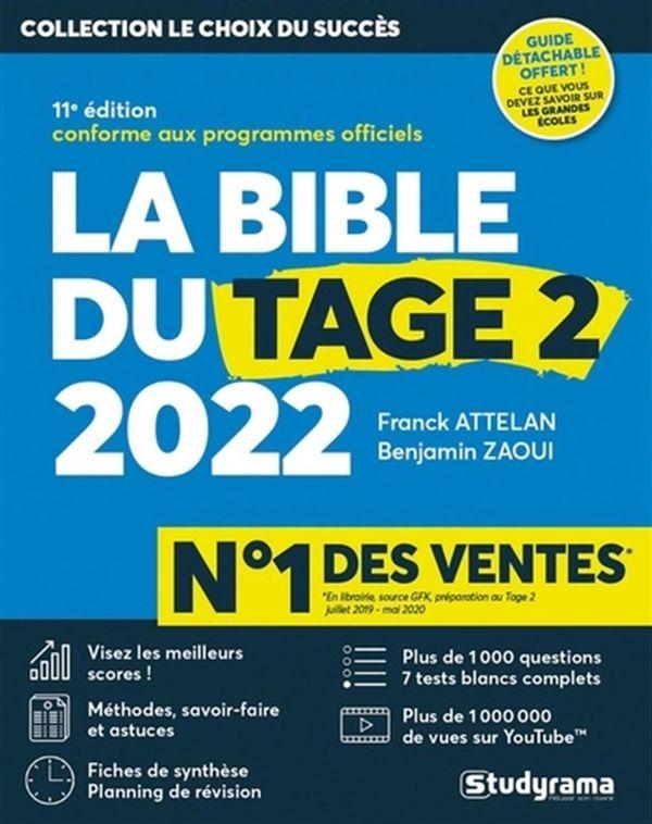 Le bible du tage 2 2022 - 11e édition