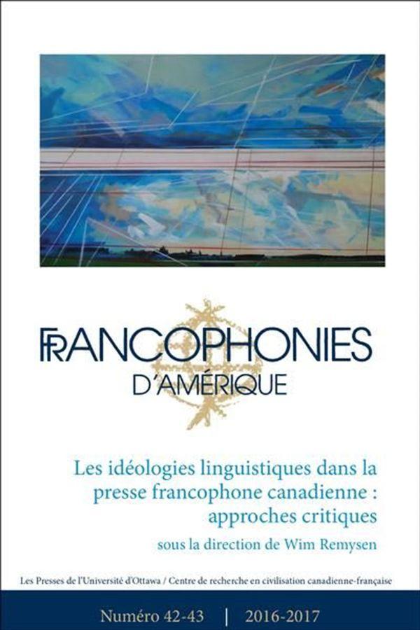 Francophonies d'Amérique 42-43