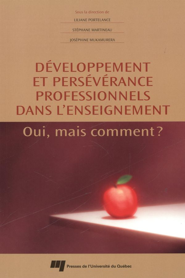 Développement et persévérance professionnels dans l'enseign
