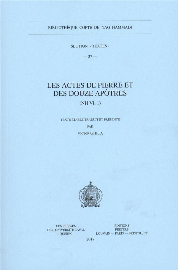 Les actes de Pierre et des douze apôtres  (NH VI, 1)