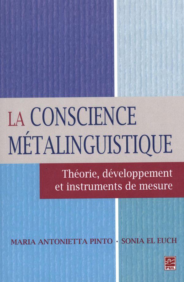 La conscience métalinguistique