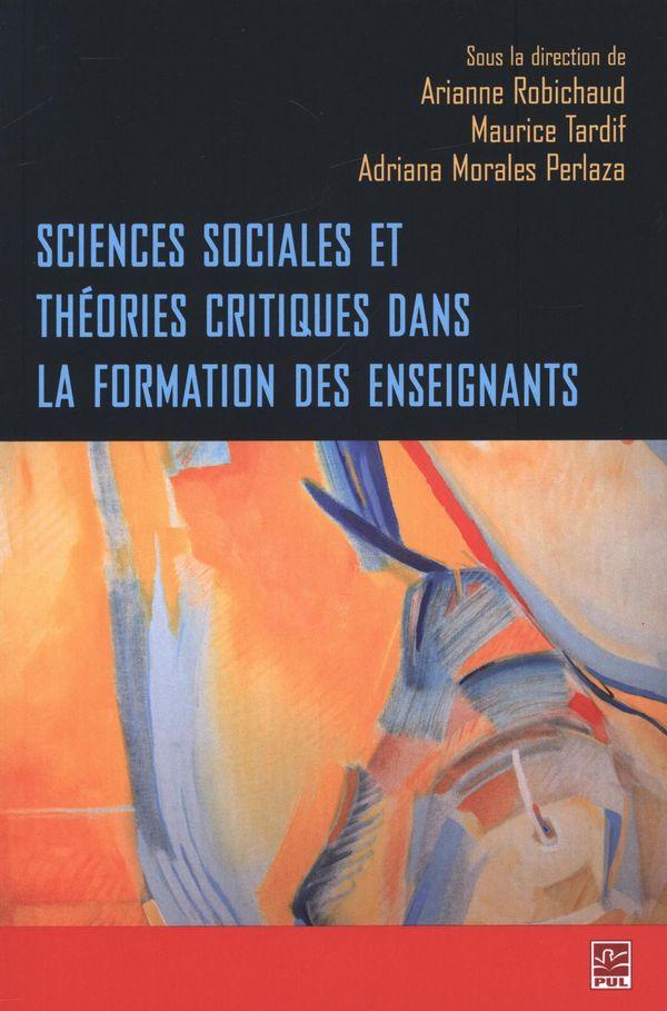 Sciences sociales et théories critiques dans la formation..