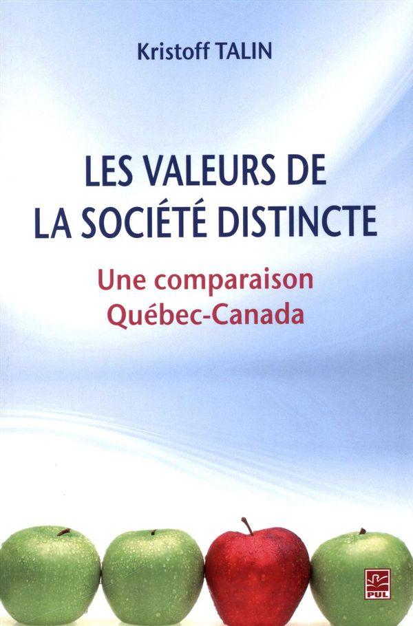 Les valeurs de la société distincte
