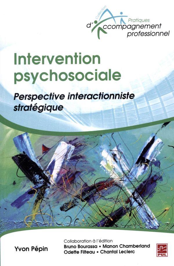 Intervention psychosociale : Perspective interactionniste stratégique