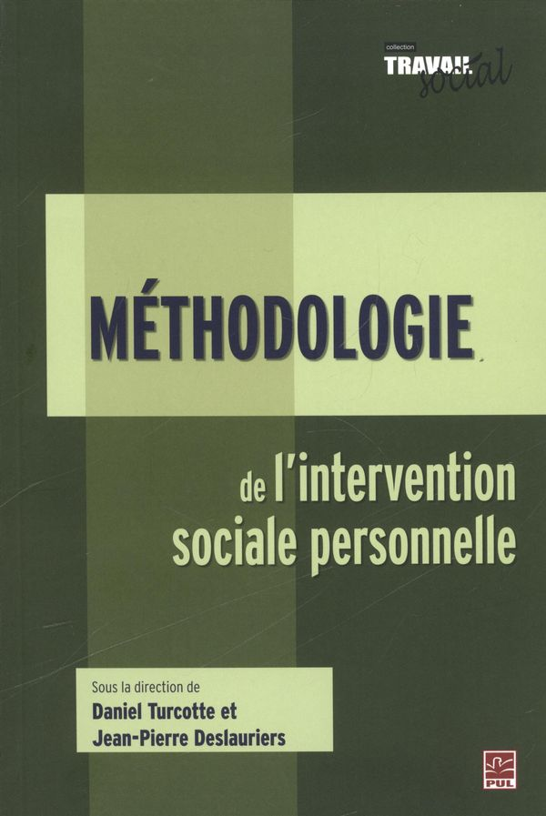 Méthodologie de l'intervention sociale personnelle
