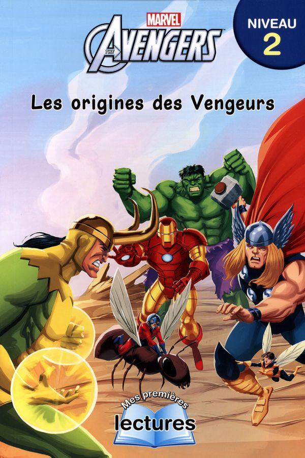 Marvel-Avengers : Les origines des Vengeurs