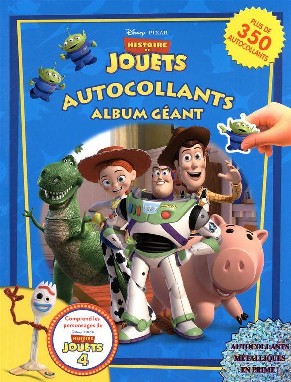 Disney Pixar : Histoire de jouets Autocollants album géant