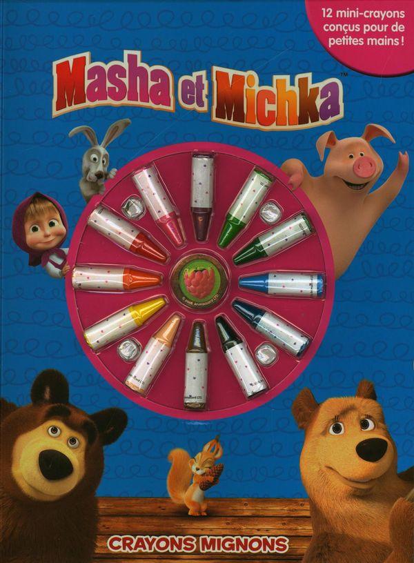 Masha et Michka : Crayons mignons