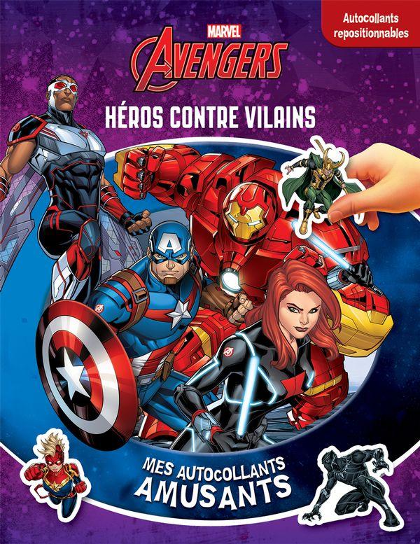 Avengers : Mes autocollants amusants