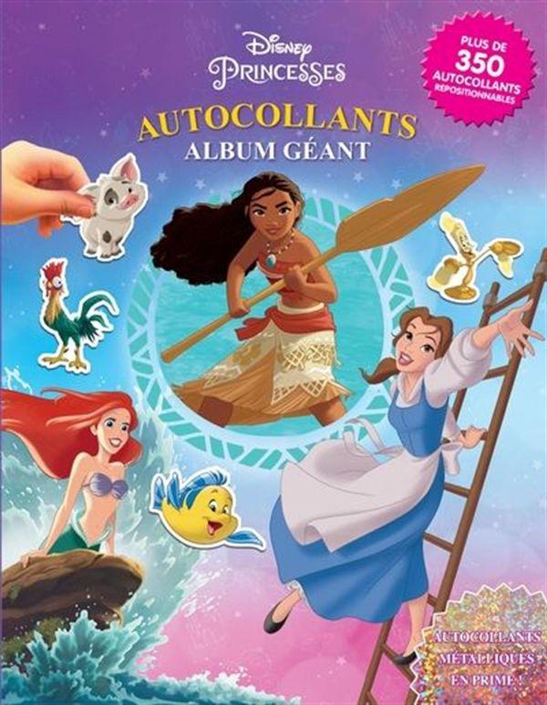Disney Princesses : Autocollants Album géant
