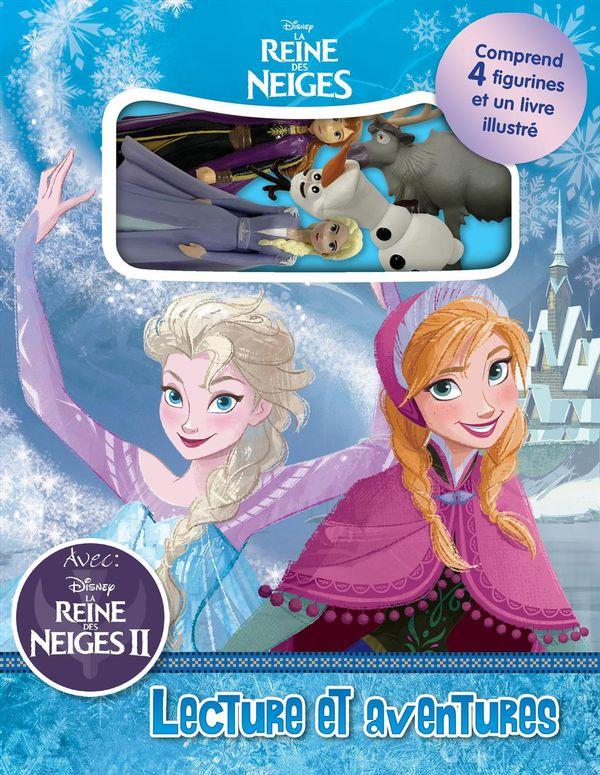 Disney La Reine des Neiges : Lecture et aventures
