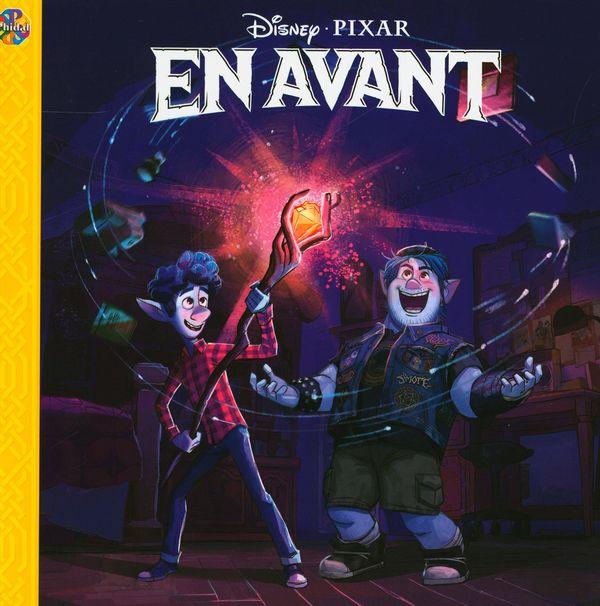 Disney - Pixar  En avant