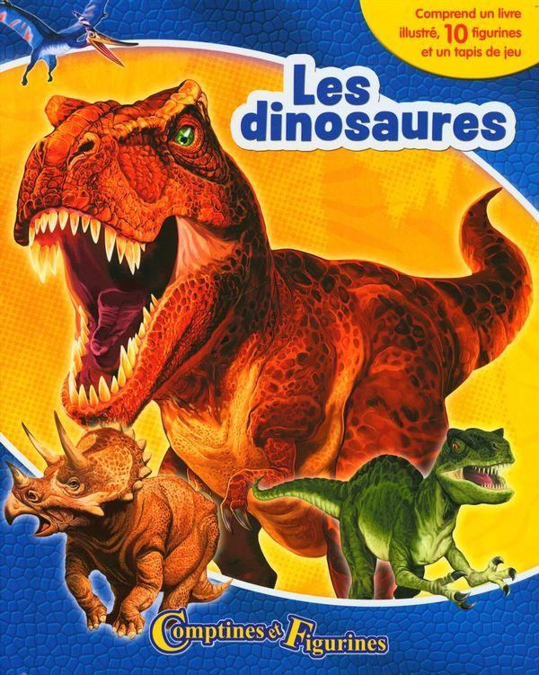 Dinosaures : Comptines et figurines