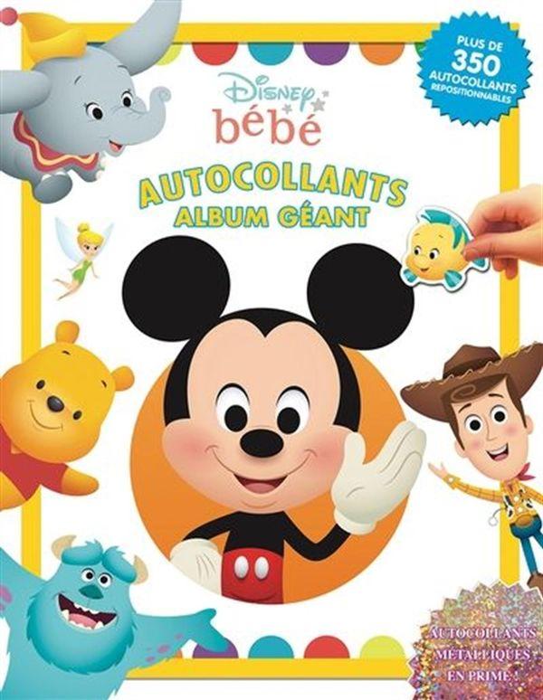 Disney bébé - Autocollants album géant