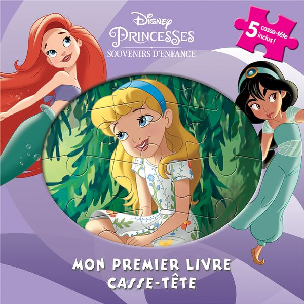 Disney Princesses : Mon premier livre casse-tête