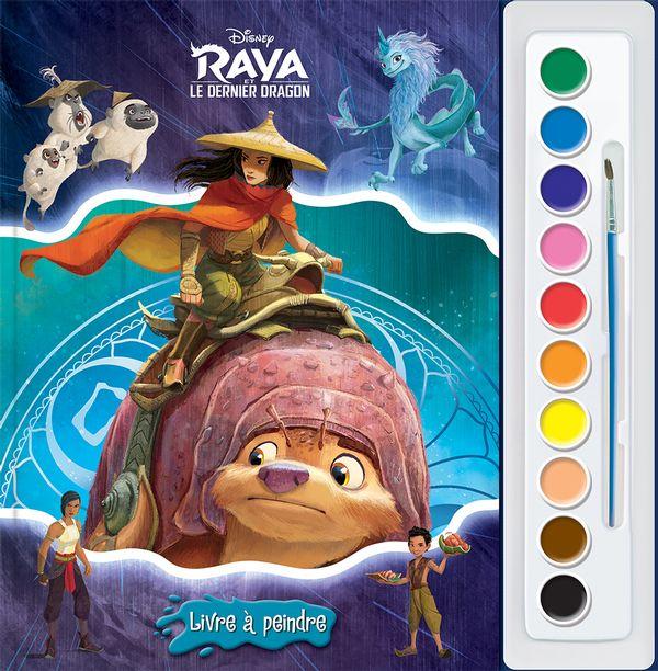 Raya et le dernier dragon : Livre à peindre