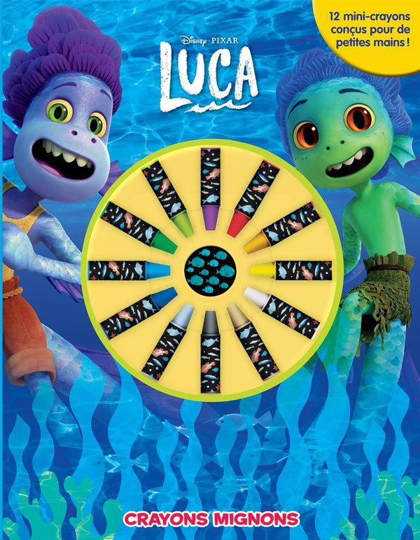 Luca : Crayons mignons