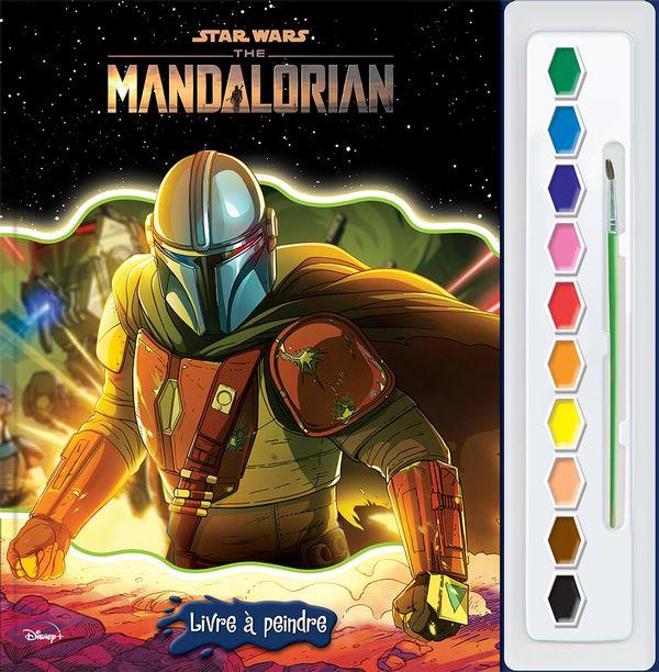 Star Wars The Mandalorian : Livre à peindre