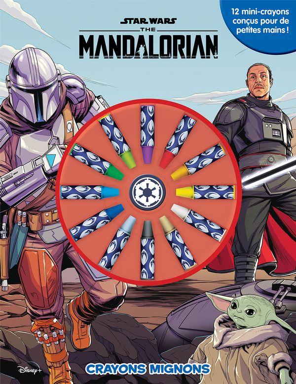 Star Wars The Mandalorian : Crayons mignons