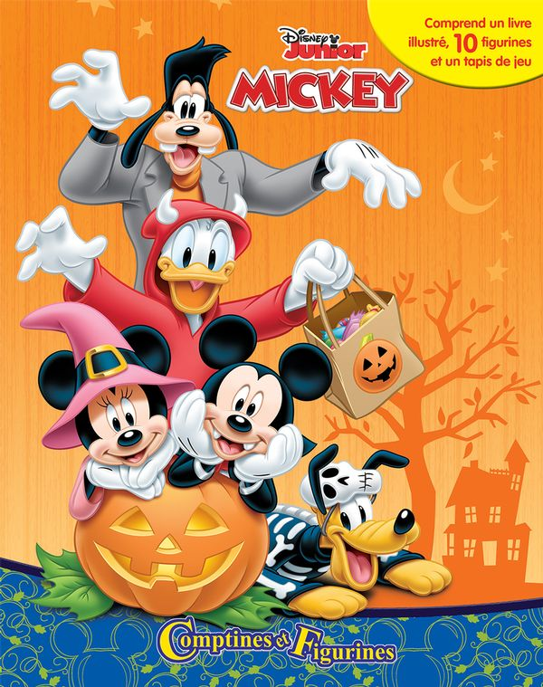 Mickey - Comptines et figurines