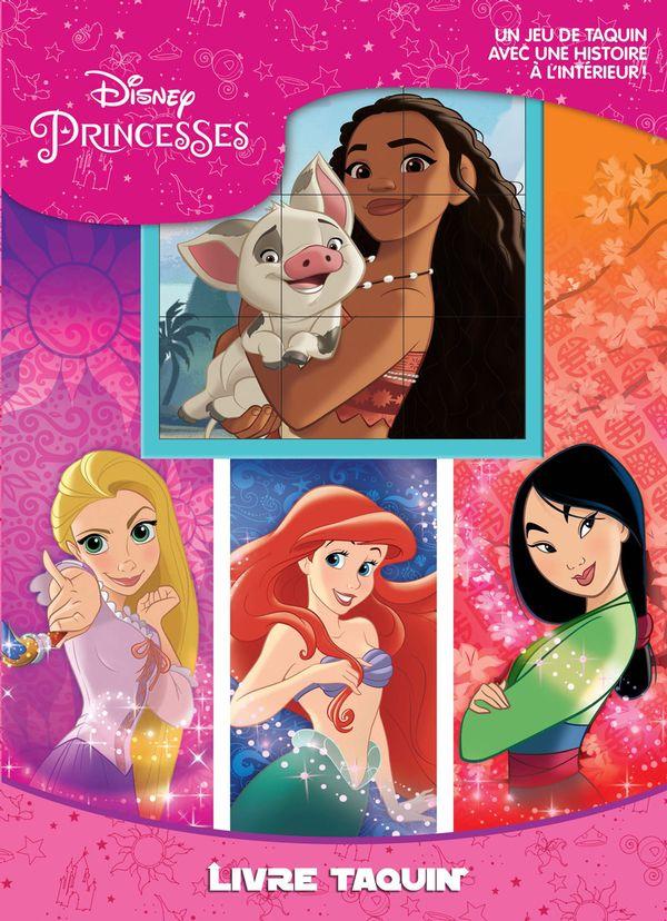 Disney Princesses : Livre Taquin
