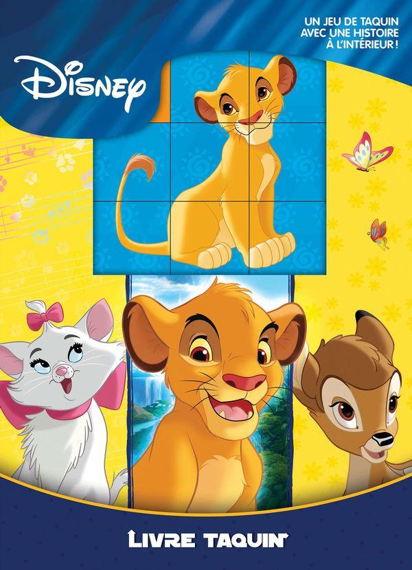 Disney Animaux : Livre Taquin