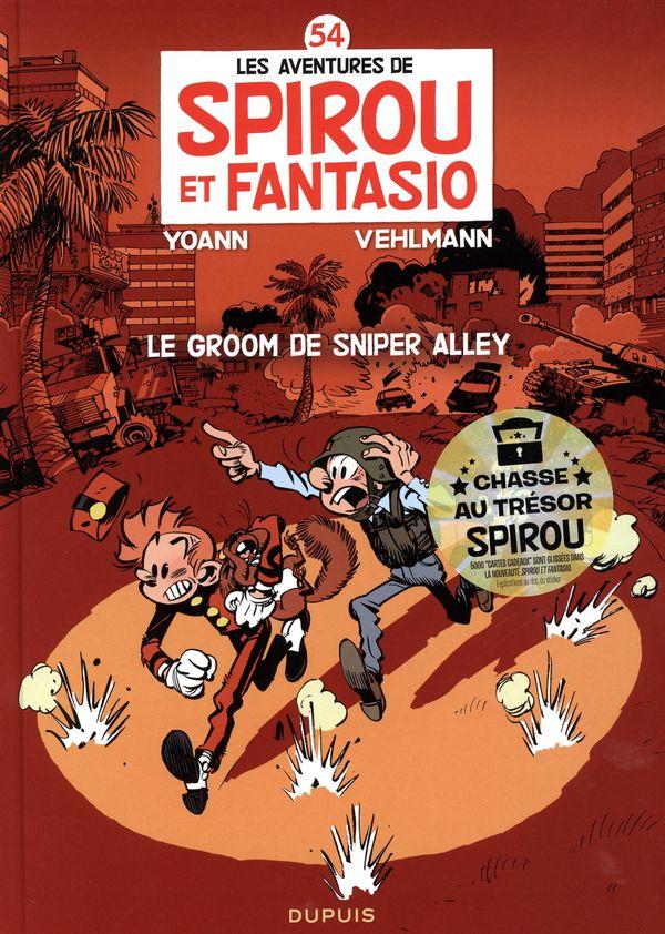 Spirou et Fantasio 54  Le groom de Sniper Alley