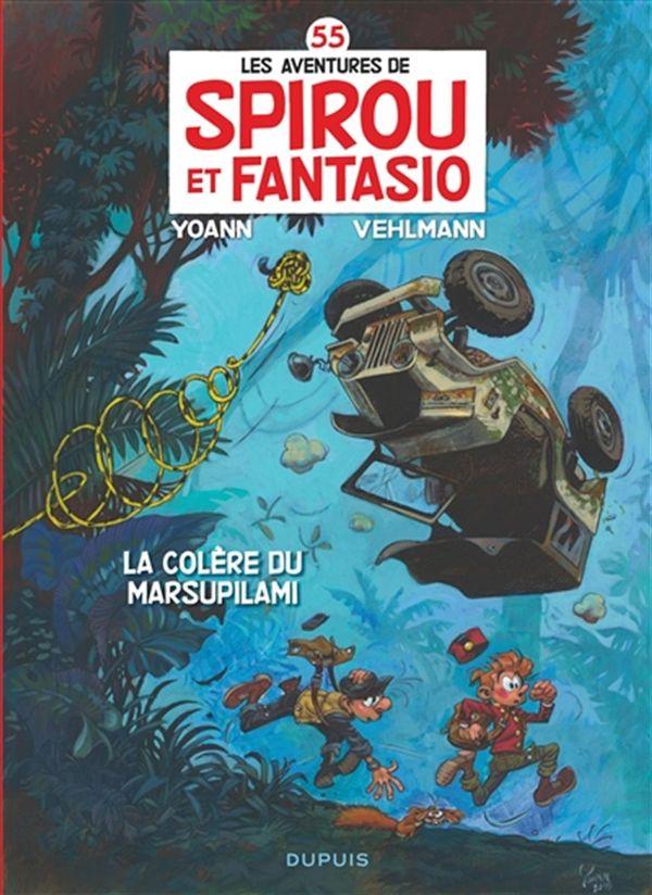 Spirou et Fantasio 55 : Colère