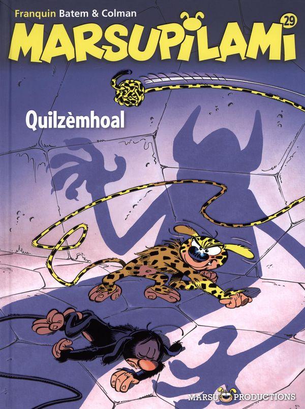 Marsupilami 29 : Quilzèmhoal