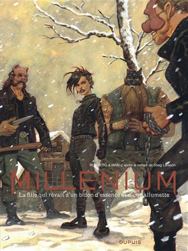 Millénium Intégrale 02  : La fille qui rêvait d'un bidon d'essence et d'une allumette