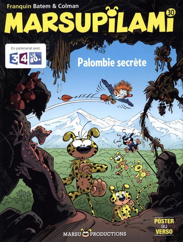 Marsupilami 30 : Palombie secrète
