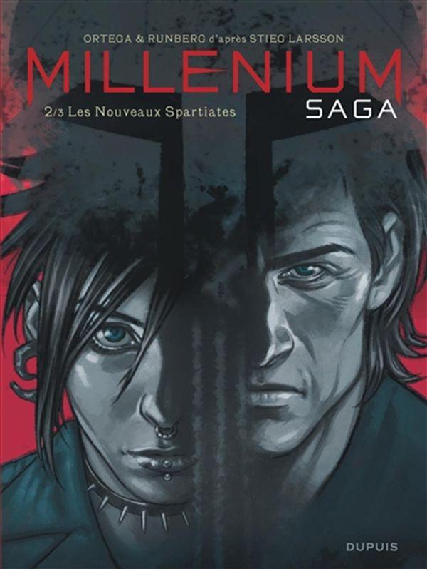 Millénium saga 02 :  Les Nouveaux Spartiates