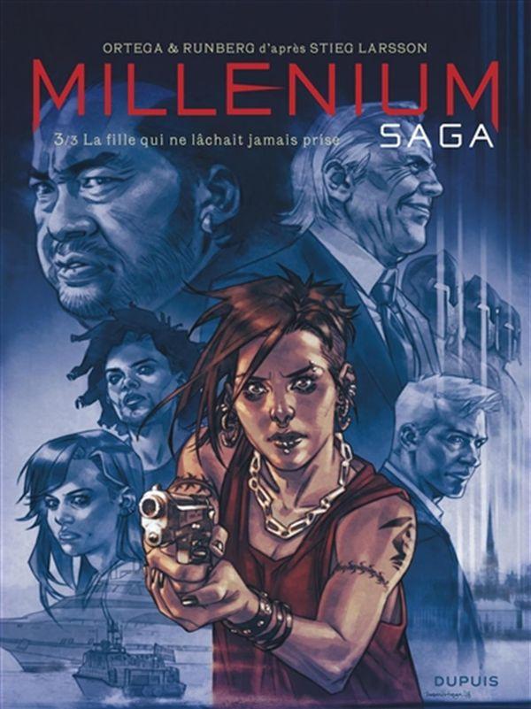 Millénium Saga 03 : La fille qui ne lâchait jamais prise