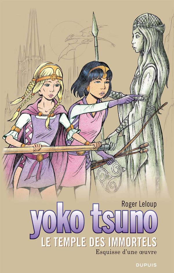 Yoko Tsuno 28  : Le temple des immortels (grand format)