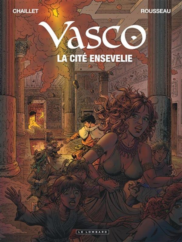 Vasco 26 : La cité ensevelie