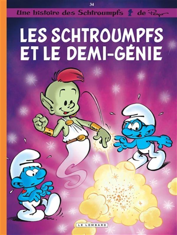 Les Schtroumpfs 34 : Les Schtroumpfs et le demi-génie