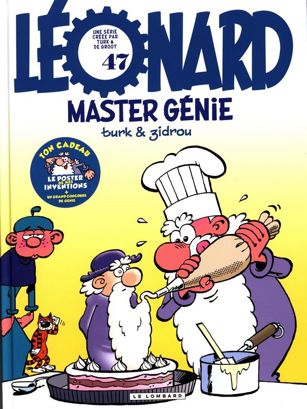 Léonard 47 : Master génie